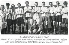 1923 1. Mannschaft SCN