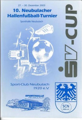 SV Cup 2003