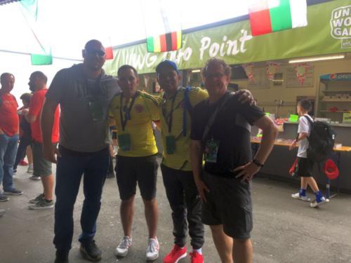 Unsere Freunde aus Kolumbien