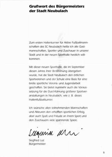 1994- Grusswort Bürgermeister Luz
