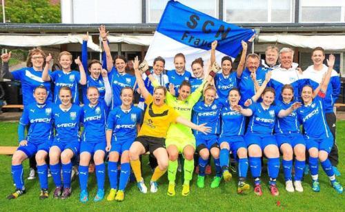 2015 Poaklsieg und Aufstieg Landesliga 14-15